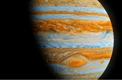 Wenn sich Jupiter und Saturn annähern