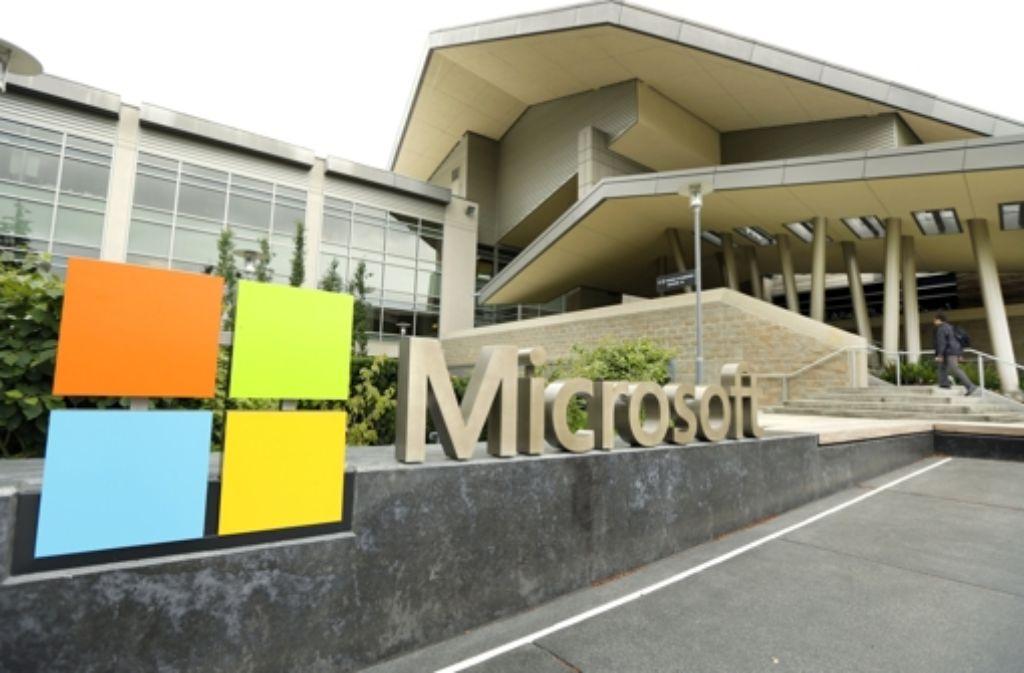 Auf seinem Campus in Redmond im US-Bundesstaat Washington wird Microsoft am Mittwochabend das neue Windows 10 vorstellen. Foto: AP
