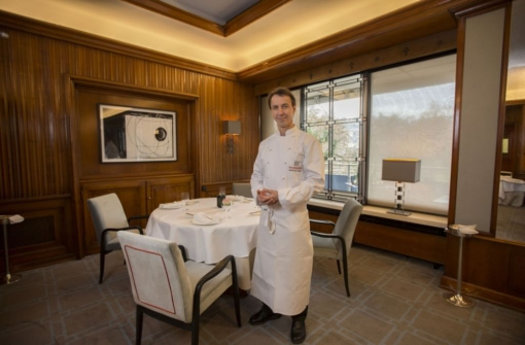 Sternekoch Bernhard Diers verlässt das nach ihm benannte Gourmetrestaurant im Hotel am Schlossgarten aus gesundheitlichen Gründen. Foto: Steinert
