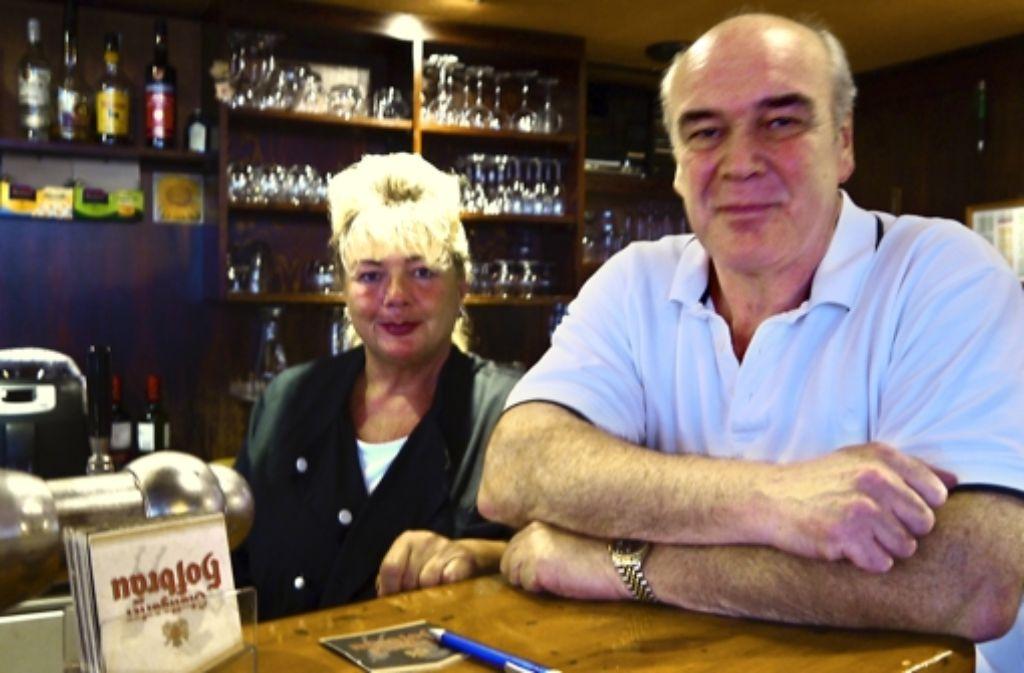 Eva Volk und Werner Mast sind wieder in der Weinstube anzutreffen. Foto: Nina Ayerle