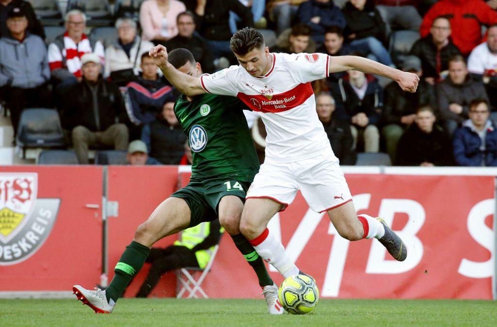 Das Rückspiel findet am 20. Mai in Wolfsburg statt. Foto: Pressefoto Baumann