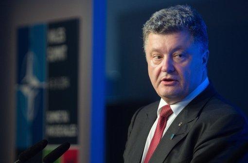 Ukraine will Friedensplan und Waffenruhe am Freitag besiegeln