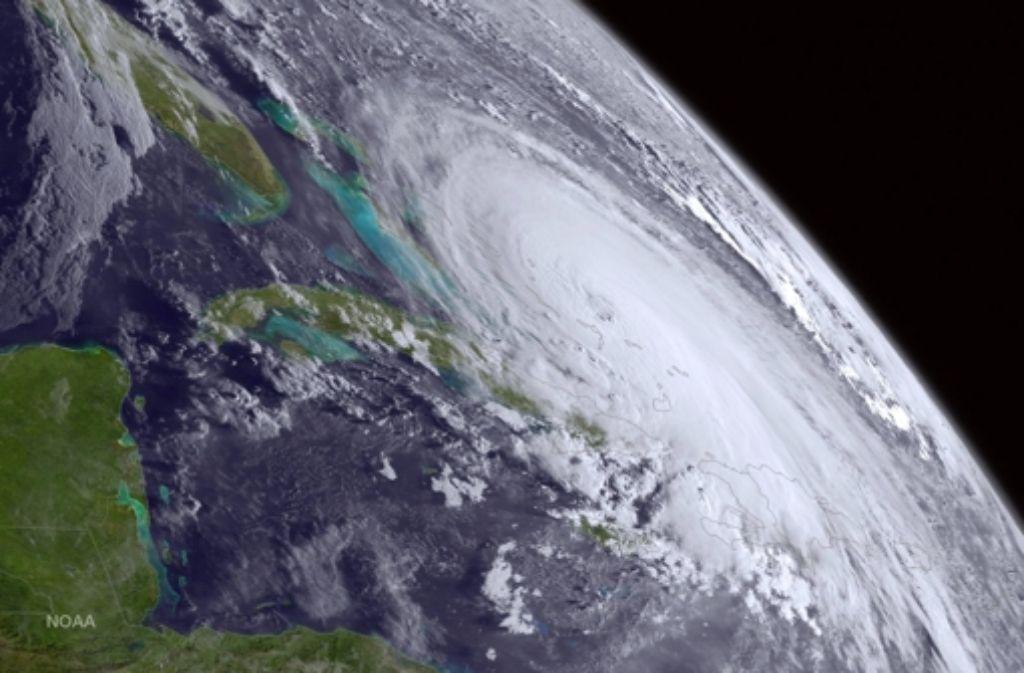 "Der Hurrikan ""Joaquin"" wird Anfang kommender Woche die USA treffen. Foto: NOAA"