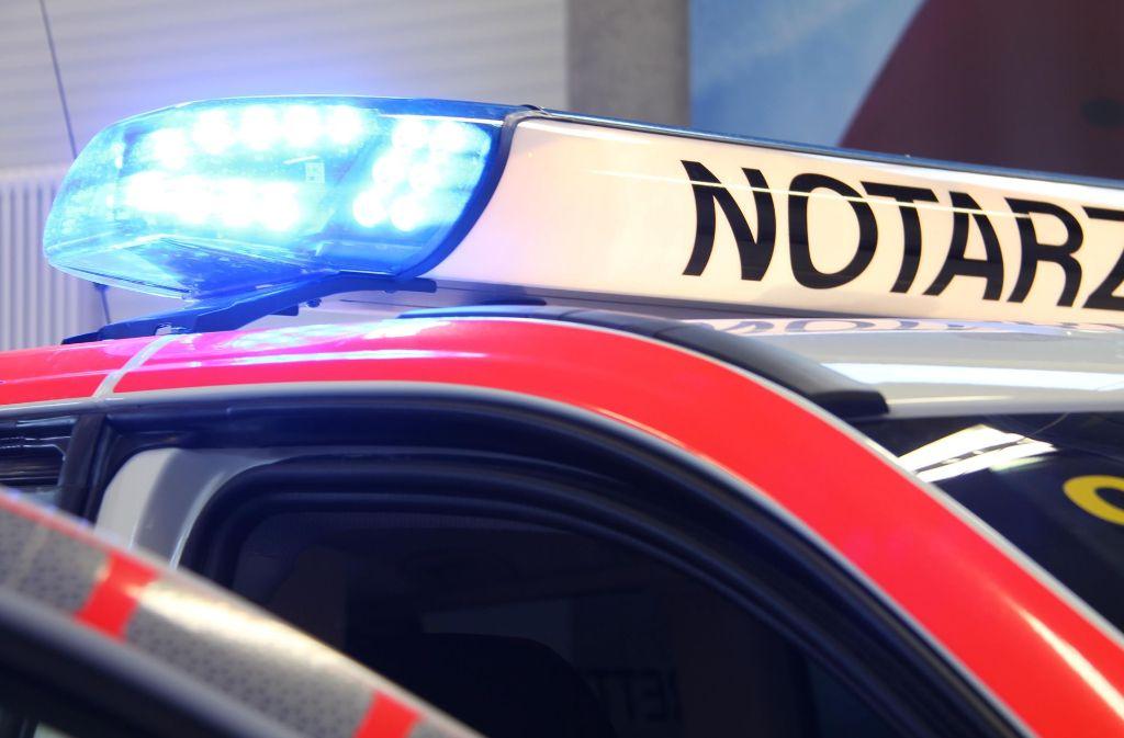Bei dem Unfall in Plüderhausen wurde laut Polizei ein Mensch schwer verletzt (Symbolbild). Foto: dpa