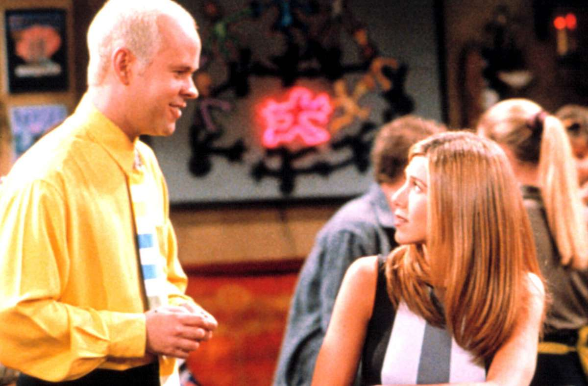 """In """"Friends"""" spielte James Michael Tyler Gunther, der für Rachel (Jennifer Aniston) schwärmt. Foto: imago images//Courtesy Everett Collection"""