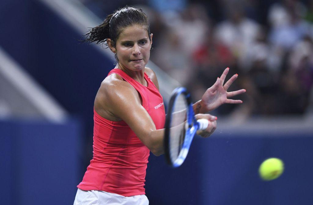 Julia Görges ist bei den US Open ausgeschieden. Foto: AP