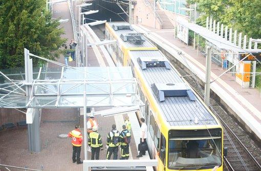 Kuriose Rauchentwicklung in Stadtbahn-Tunnel