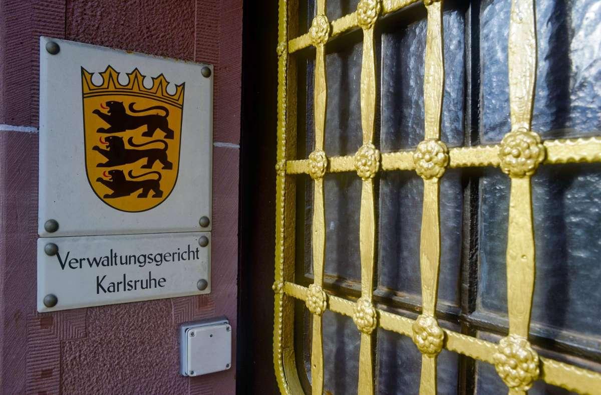 Eine Begründung legte das Verwaltungsgericht noch nicht vor. (Archivbild) Foto: imago images/imagebroker/Michael Weber