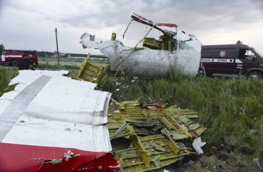 Die Bestürzung in der Welt über den Flugzeug-Absturz in der Ukraine ist groß. Foto: EPA