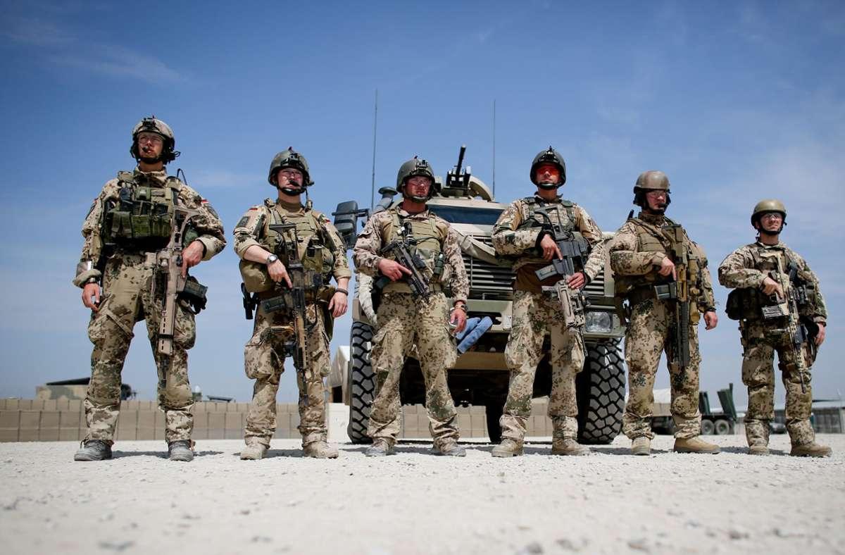 Nach wie vor sind Soldaten der Bundeswehr in Afghanistan im Einsatz. (Archivbild) Foto: dpa/Kay Nietfeld