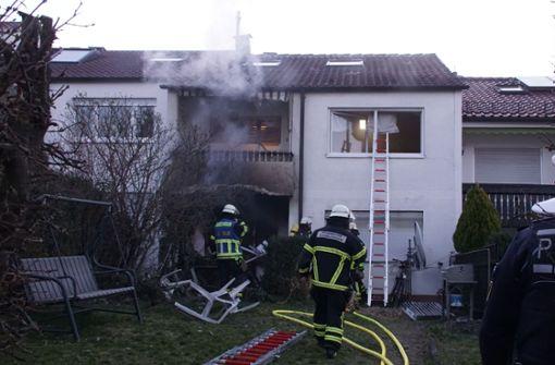 Wohnhaus in Flammen – dramatische Rettungsaktion