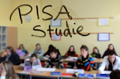 Deutsche Schüler holen deutlich auf