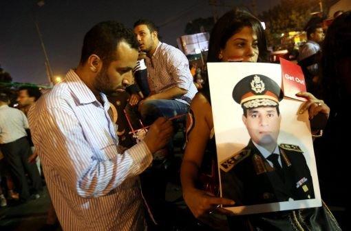 Mursi steht unter Arrest