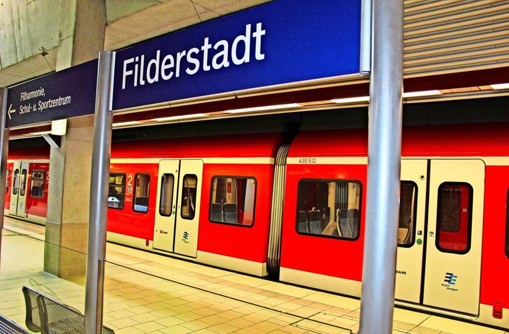 Filderstadt wird mindestens bis Ende 2022 Endstation bleiben. Foto: Jacqueline Fritsch