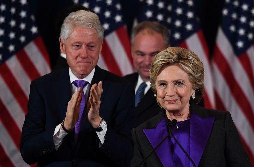 Hillary Clinton will Buch über Niederlage veröffentlichen