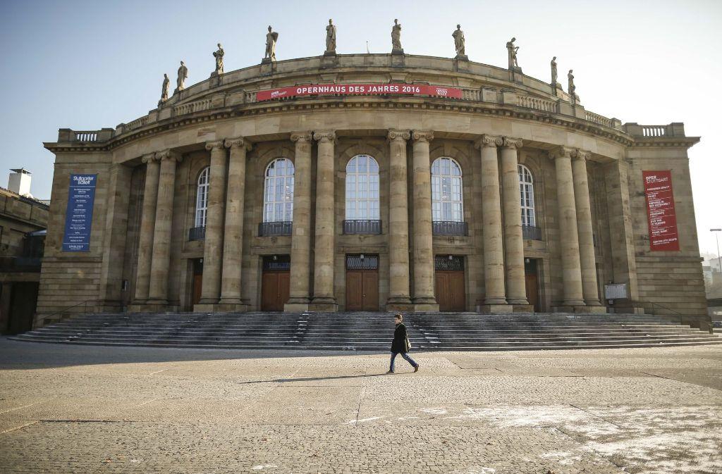 Hier muss irgendwann einmal gebaut werden: das Opernhaus Stuttgart Foto: Lichtgut/Leif Piechowski