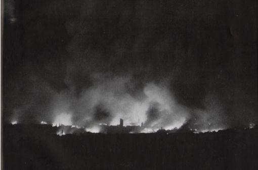 Vor 75 Jahren gingen die Filder in Flammen auf