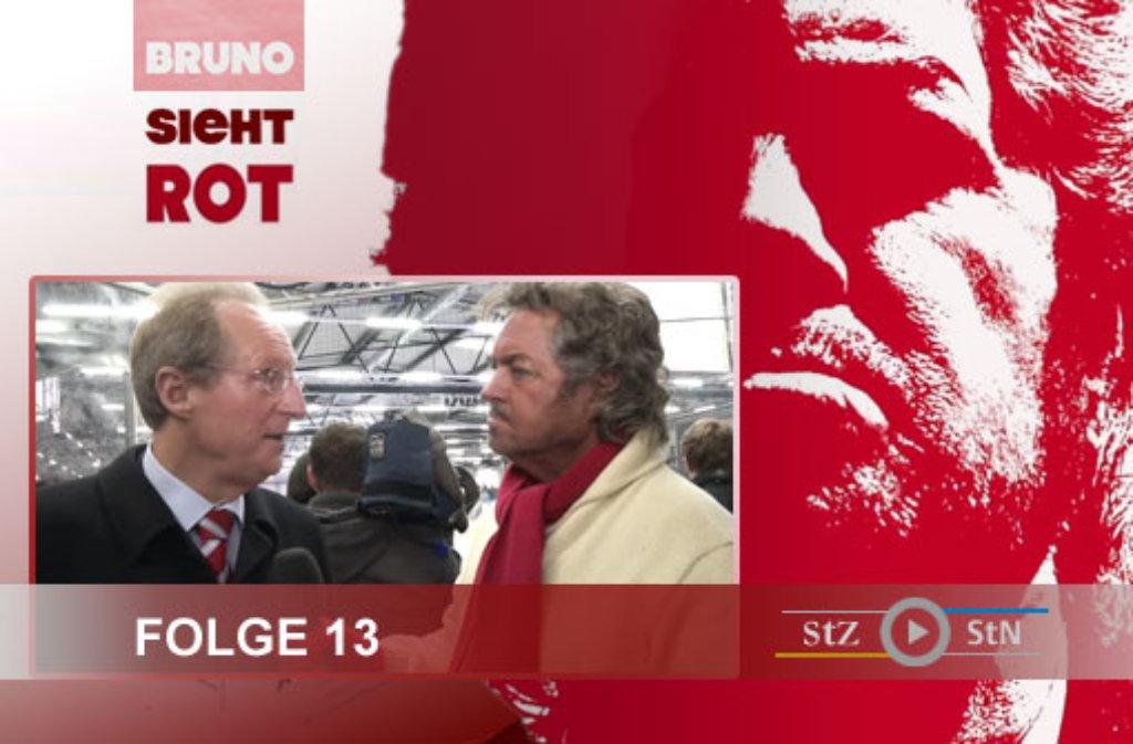 Für die Dreharbeiten zur 13. Folge von Bruno sieht rot hat sich Moderator Bruno Stickroth auf das glatte Eis der Eiswelt auf der Waldau gewagt. Klicken Sie sich durch unsere Bildergalerie: Foto: SIR