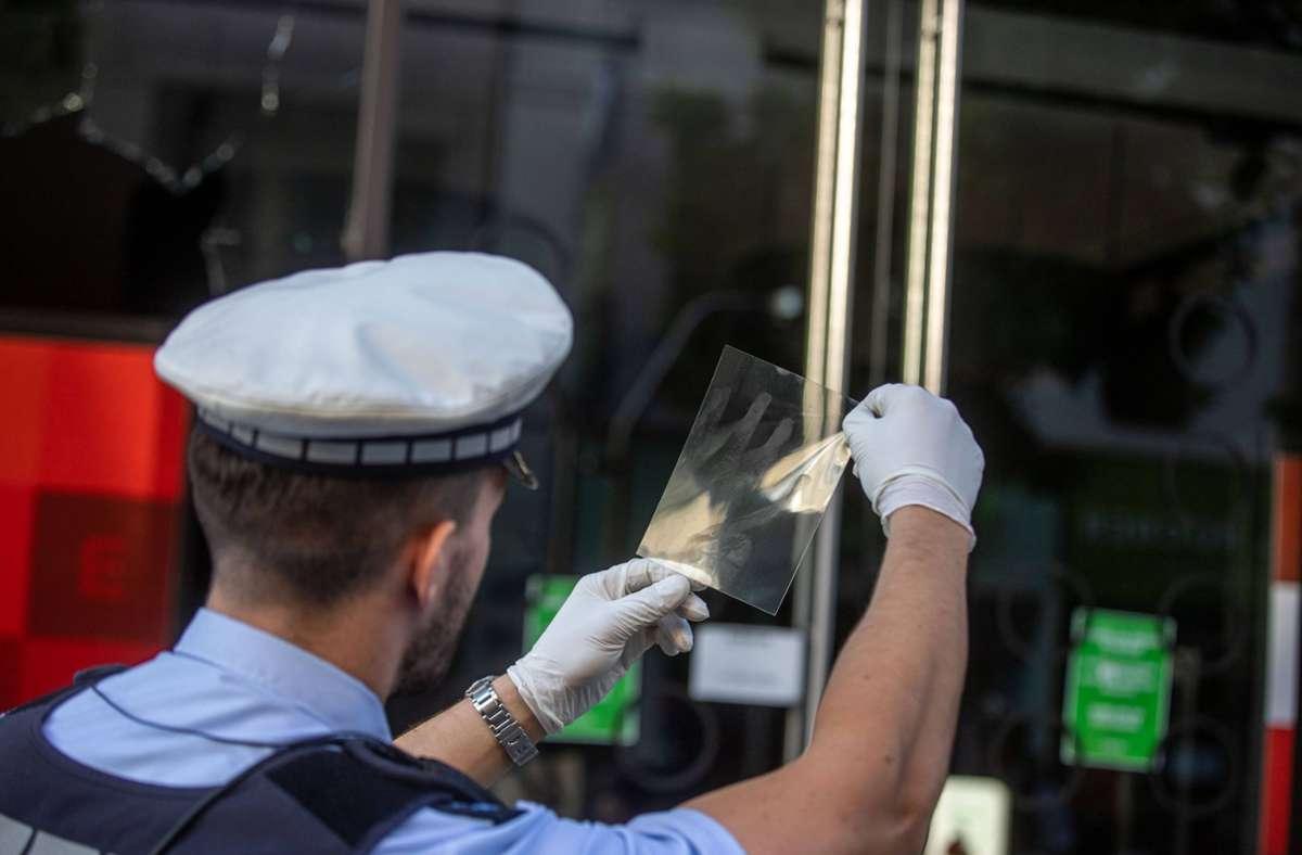 Die Polizei hat mit der Spurensuche begonnen. Foto: 7aktuell/Simon Adomat