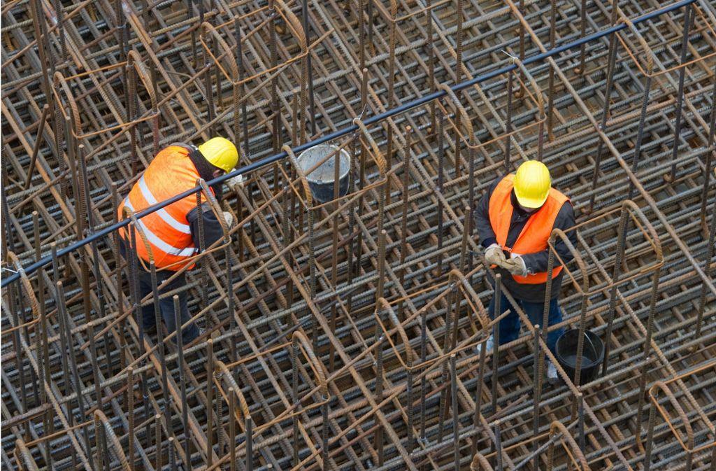 Die Konjunktur kühlt sich ab – Bauwirtschaft und Handwerk zeigen sich dennoch optimistisch. Foto: dpa