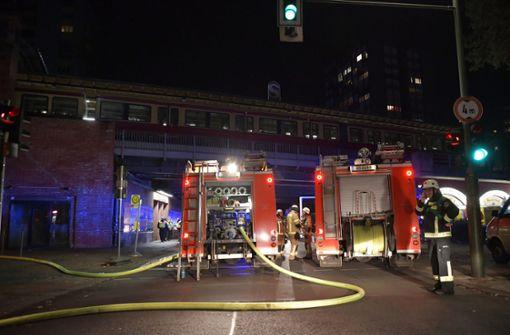 Sonderzug mit SC-Freiburg-Fans steht in Flammen