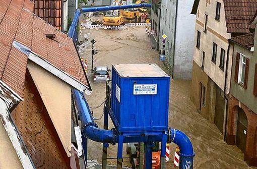 Wo droht   Gefahr durch  Starkregen?