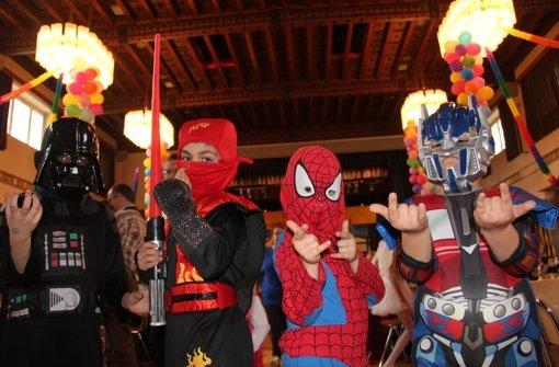 Ein Mini-Spiderman und viele andere kleine Helden