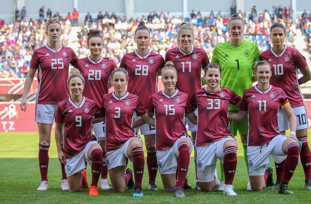 Ein Highlight des Fußball-Sommers: die Frauen-WM in Frankreich Foto: Baumann