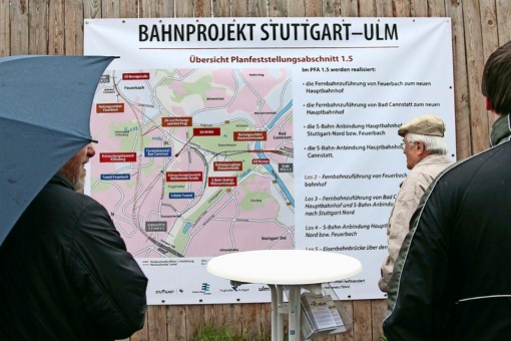Große Teile von Stuttgart 21 passieren in Stuttgart-Nord – für die Interessen der Anwohner wollen sich der Bezirksbeirat und S-21-Initiativen nun gemeinsam einsetzen. Foto: factum/Granville
