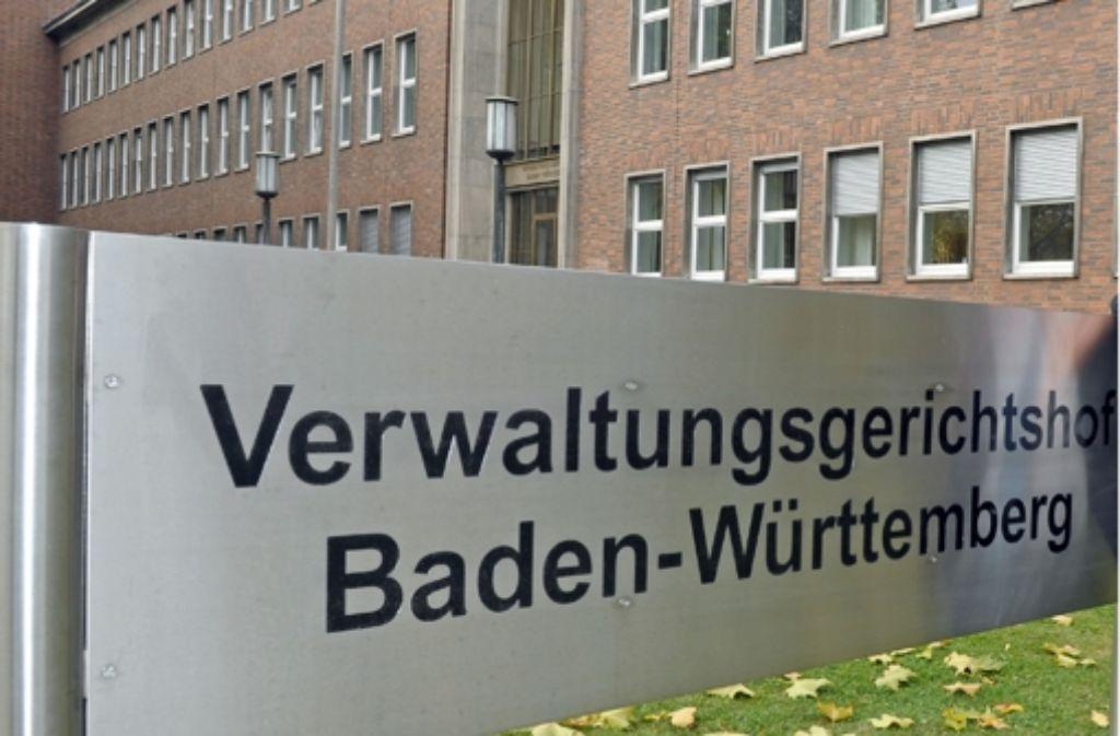 Das Gericht in Mannheim hat sich mit einem Bürgerbegehren gegen Stuttgart 21 befasst. Foto: dpa