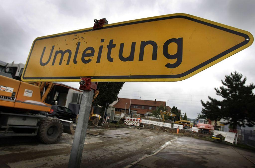 Die B10 ist in beide Richtungen gesperrt. (Symbolbild) Foto: 7aktuell.de | Oskar Eyb