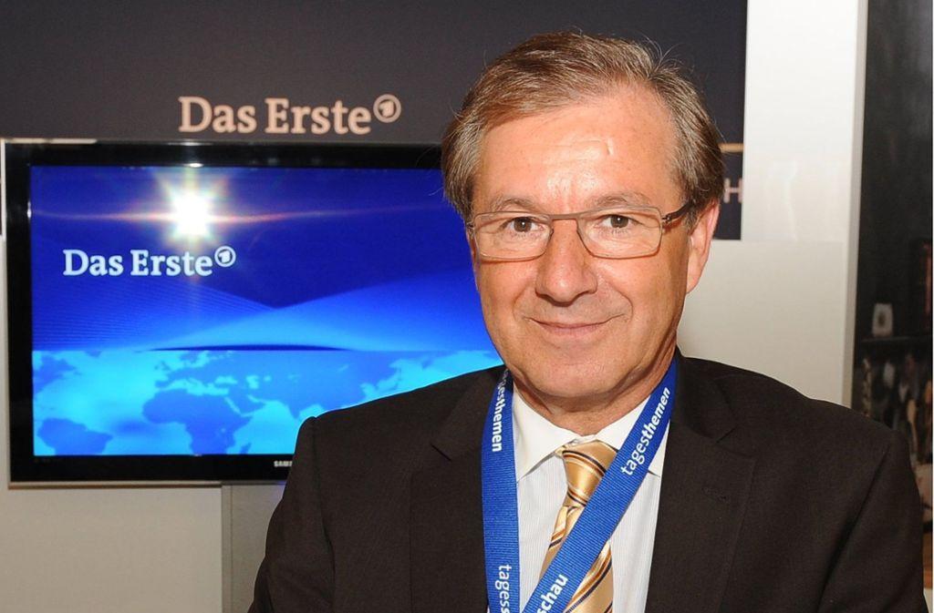 """Seit 2004 ist Hofer Chefsprecher bei der """"Tagesschau"""" im Ersten. Foto: dpa"""