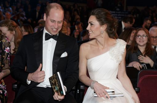 Herzogin Kate adelt die Preisverleihung