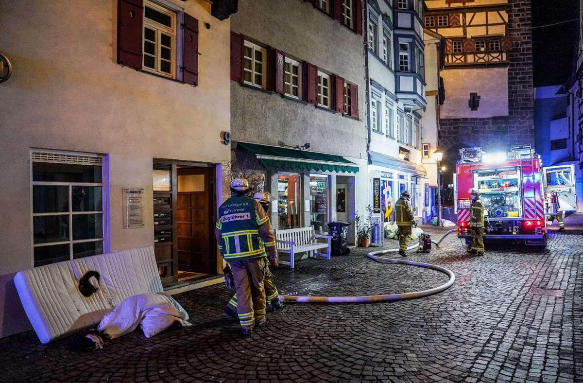 Drei Bewohnern war es gelungen, das Feuer zu löschen. Foto: SDMG/Kohls