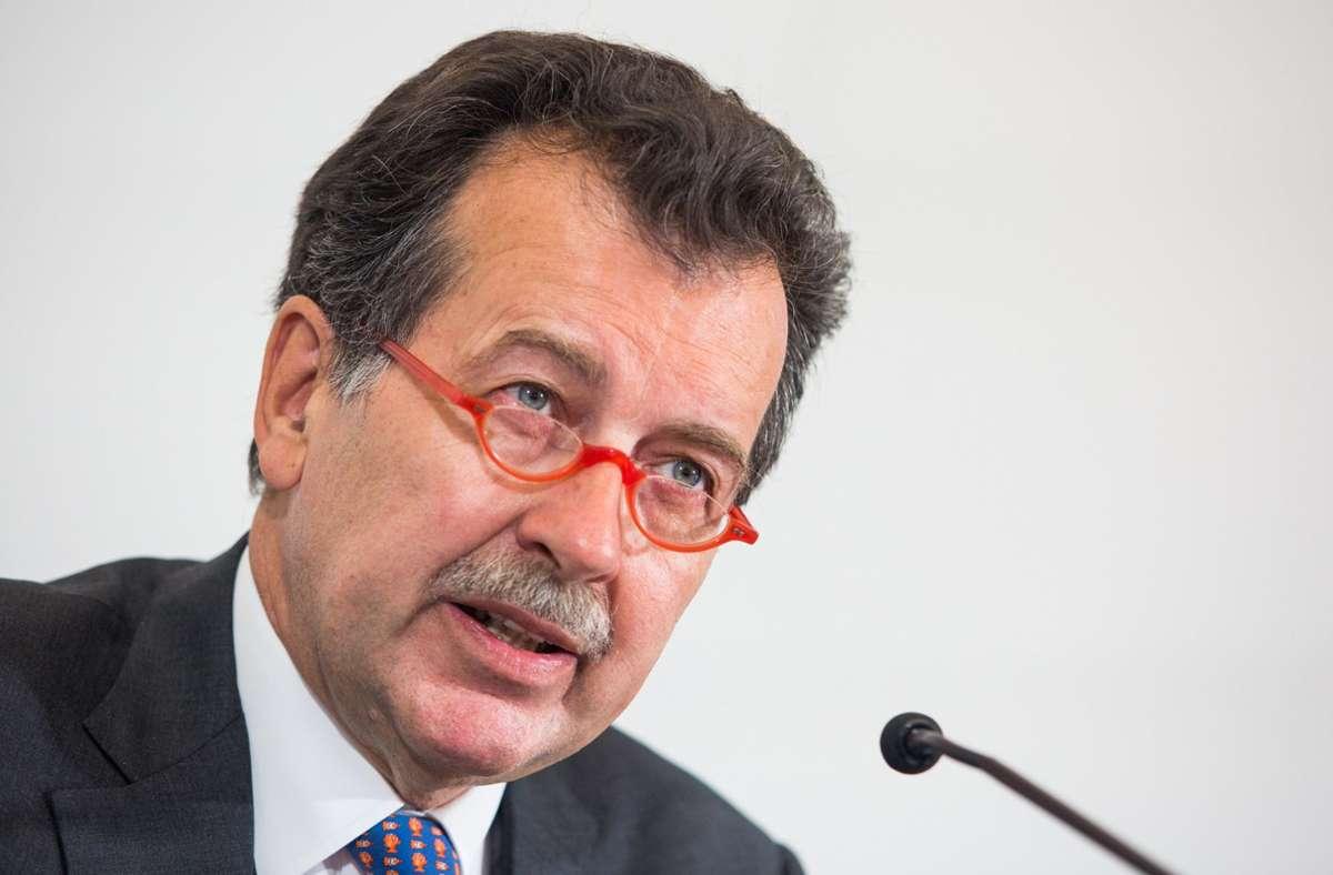 Hans-Jörg Vetter leitet in Zukunft den Aufsichtsrat der Commerzbank. (Archivbild) Foto: dpa/Christoph Schmidt