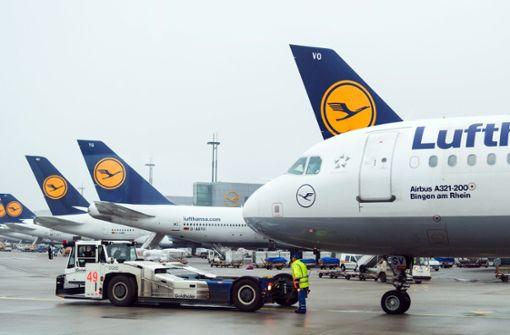 Flugausfälle in Frankfurt am Main wegen Gewitters