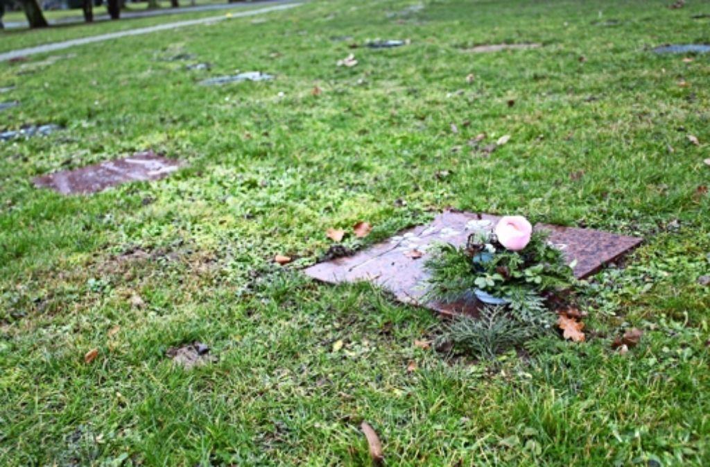 Rasengräber wie hier auf dem Hauptfriedhof in Cannstatt wird es bald auch in Plieningen und Birkach geben. Foto: Rebecca Stahlberg