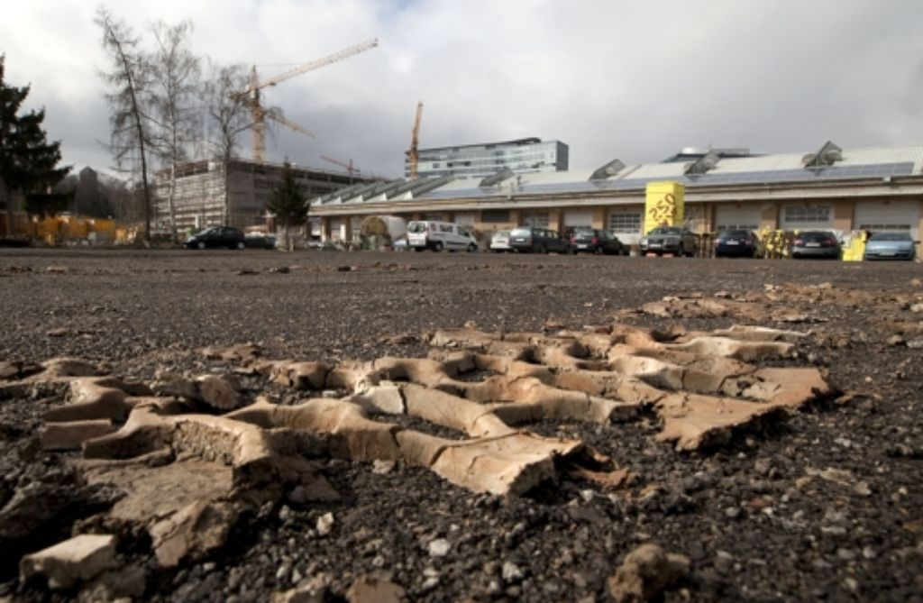 In unmittelbarer Nachbarschaft zu den Wagenhallen soll der Campus entstehen. Foto: Horst Rudel
