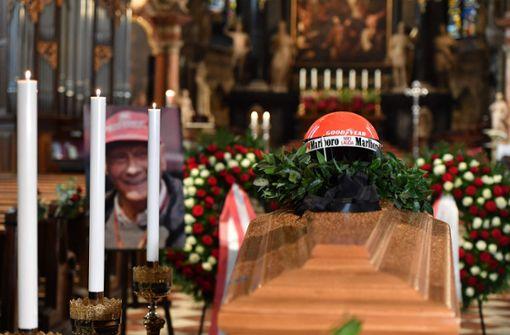 Tausende nehmen Abschied im Wiener Stephansdom