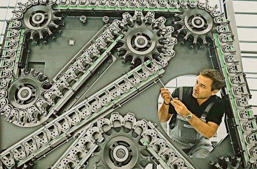Große Lohnunterschiede im Maschinenbau