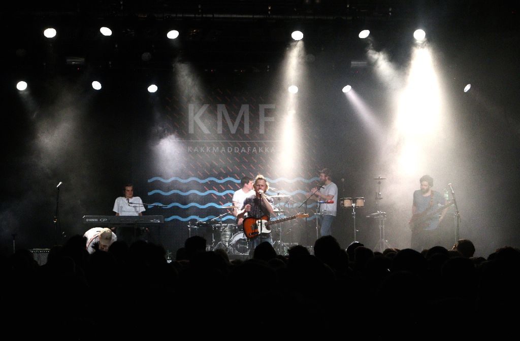 Kakkmaddafakka haben am Donnerstag im Wizemann im Stuttgart gespielt. Weitere Bilder gibts nach dem Klick. Foto: L.R. Fotografie