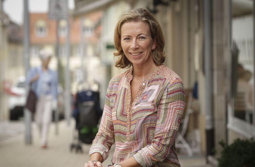 Stefanie Knecht ist die neue Vorsitzende der FDP im Landkreis Ludwigsburg. Foto: factum/Bach