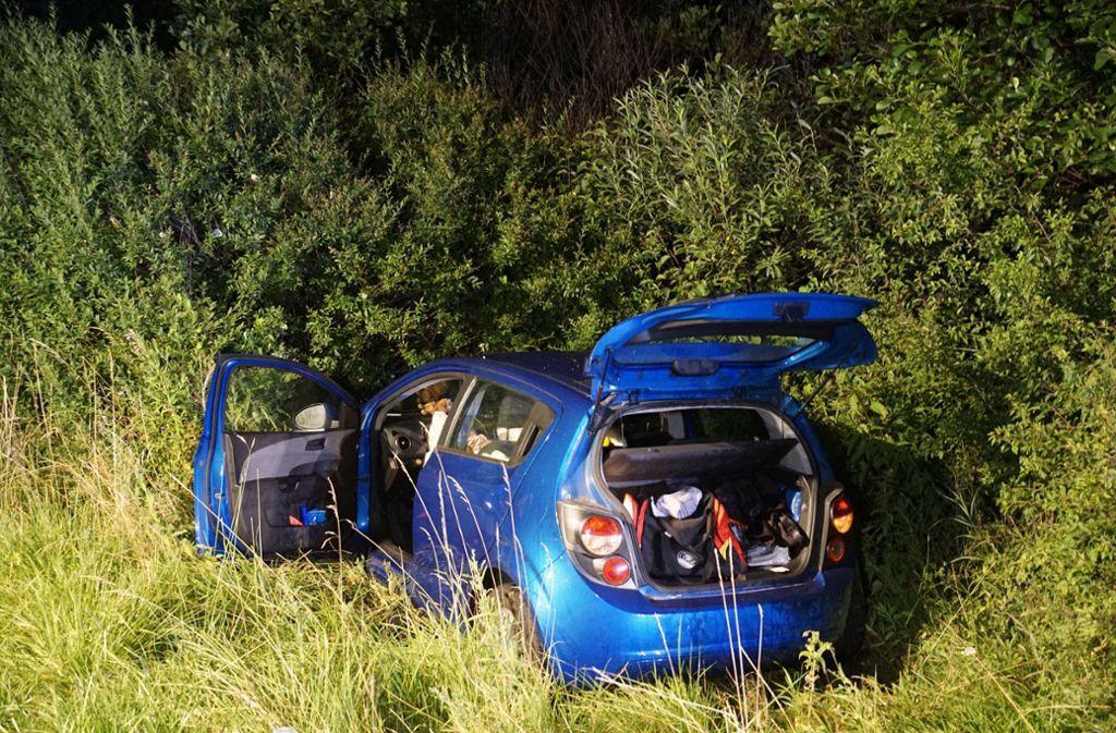 Auf der A8 bei Aichelberg hat es in der Nacht zum Mittwoch gekracht. Foto: SDMG