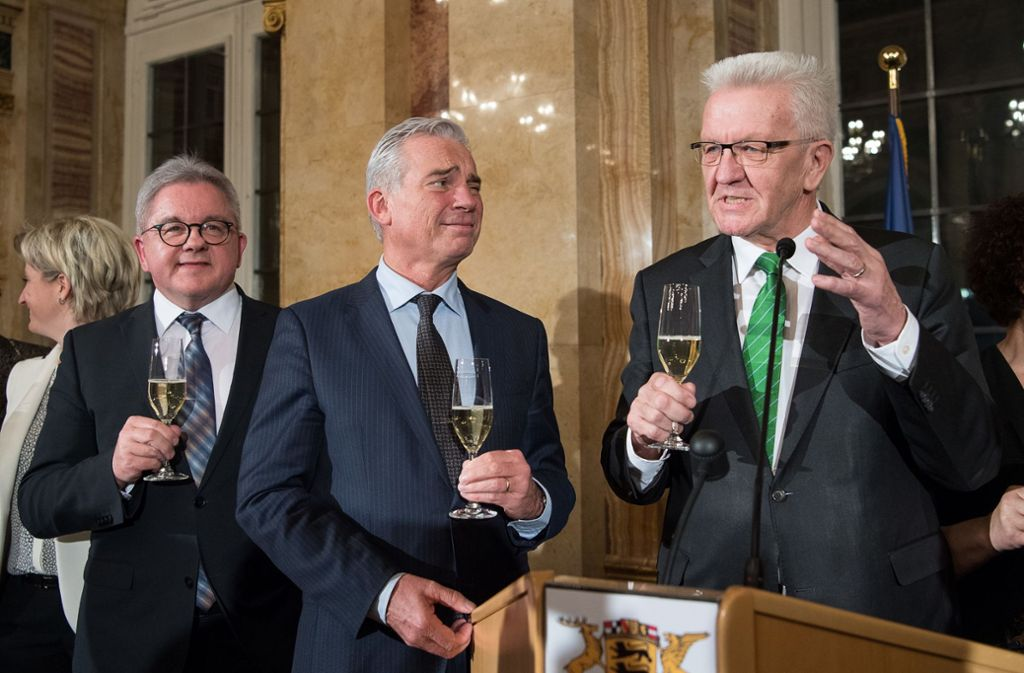 Ministerpräsident Winfried Kretschmann (Grüne) hat sich gegen den aufkommenden Nationalismus in Europa gewandt Foto: dpa