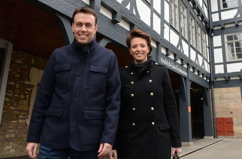 Nils und Tülay Schmid – ein deutsch-türkisches Ehepaar. Foto: dpa