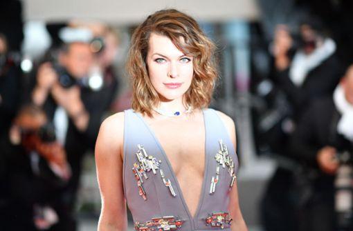 """Milla Jovovich und Adriana Lima bei Premiere des Films """"Burning"""""""