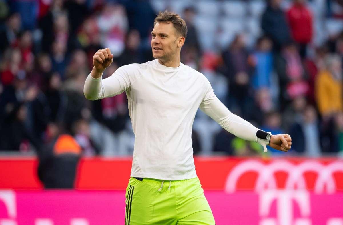 Manuel Neuer spielt am Wochenende mit dem FC Bayern in der Champions League. Foto: dpa/Sven Hoppe