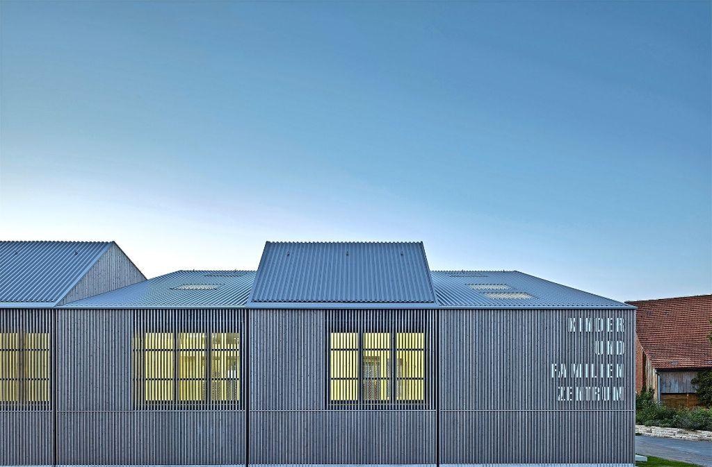 Das Kinder- und Familienzentrum in Poppenweiler von Von M Architekten. Foto: Zooey Braun