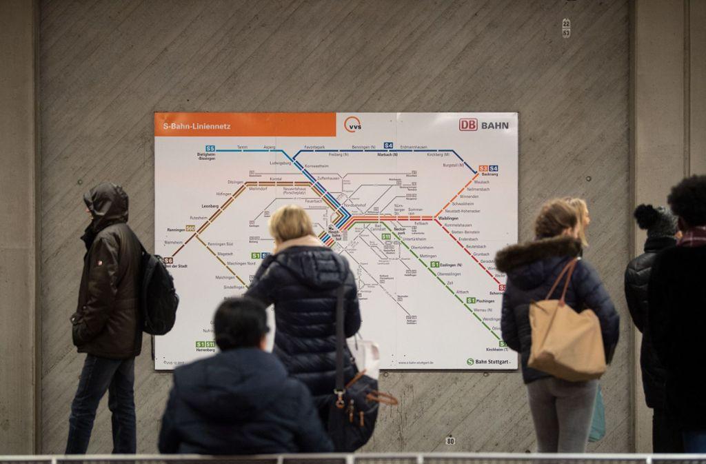 Auf der Linie S60 gibt es Änderungen. Foto: dpa