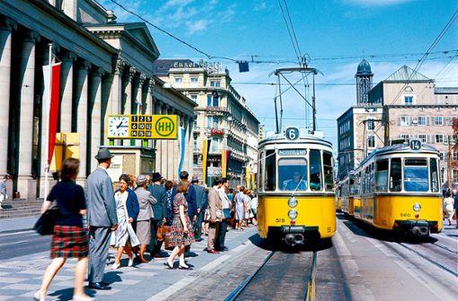 Die Straßenbahn wird 150 Jahre alt